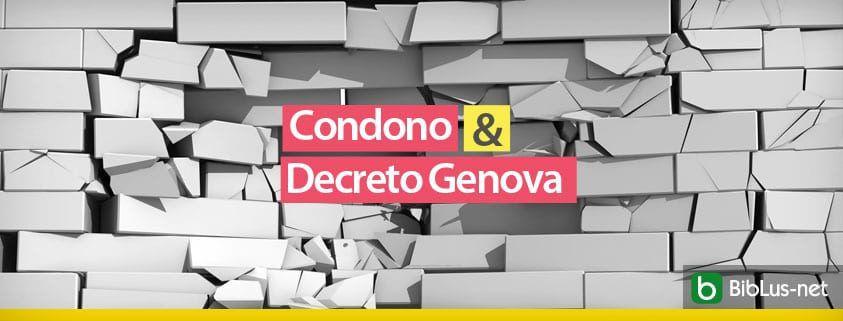 Condono-decreto-genova