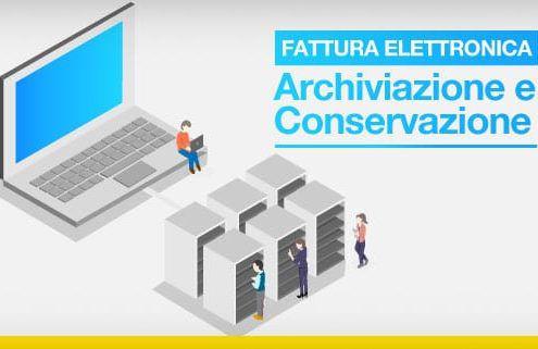 Fattura elettronica-archiviazione e conservazione