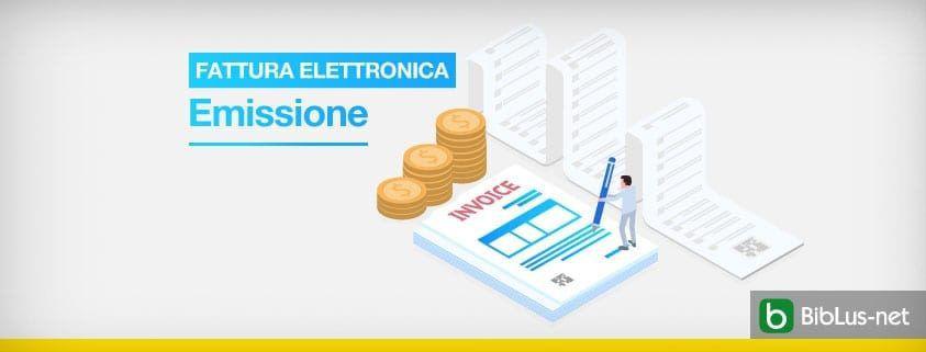 Fattura elettronica-emissione