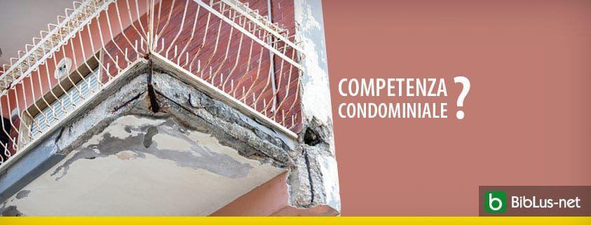 competenza condominiale