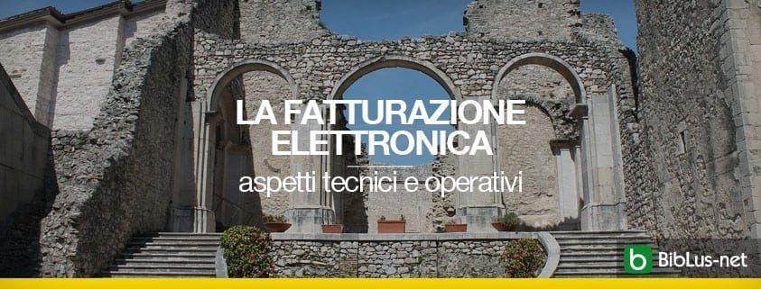 La fattura eletronica-abbazia del goleto