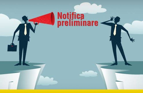 Notifica preliminare