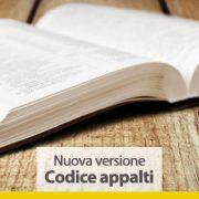 Nuova versione Codice appalti