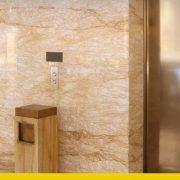 ascensore in zona sismica