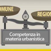 Competenza in materia urbanistica