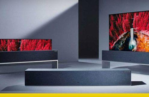 LG tv avvolgibile