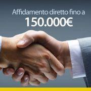 affidamento diretto fino a 150000 euro