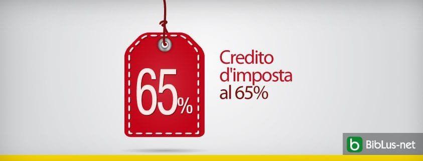 credito-d-imposta al-65-per-cento