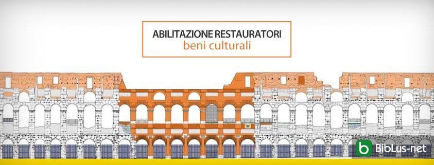 Abilitazione restauratori beni culturali
