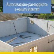 Autorizzazione paesaggistica e volumi interrati