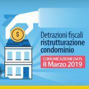 Detrazioni fiscali condominio-8-marzo-2019-