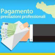Pagamento prestazioni professionali