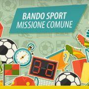 bando sport missione comune