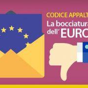 codice appalti la bocciatura dell europa lettera