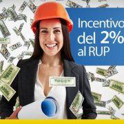 incentivo del 2 percento al rup