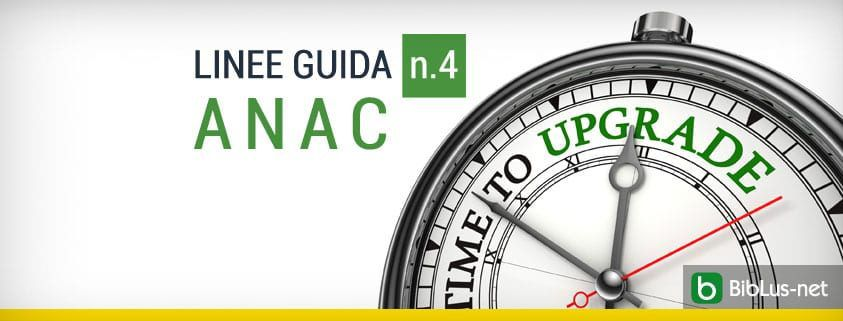 linee guida n.4 ANAC