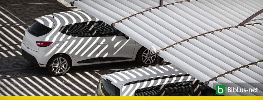 tettoia posto auto