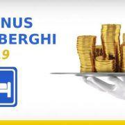 Bonus alberghi 2019