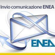 Invio comunicazione ENEA