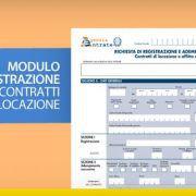 Modulo registrazione contratti di locazione