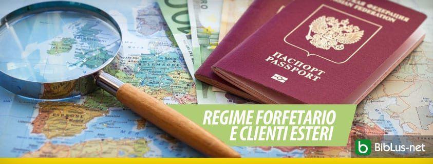 Regime forfetario e clienti esteri