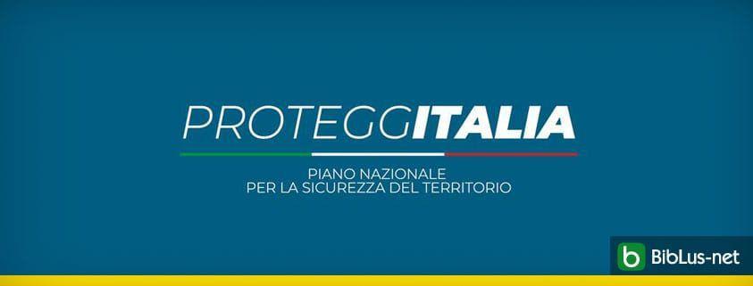proteggi italia piano contro dissesto idrogeologico