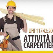 Attivita di carpentiere UNI 11742-2019