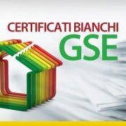 Certificati binachi GSE