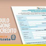 Modulo cessione del credito