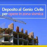 Deposito al Genio Civile per opere in zona sismica
