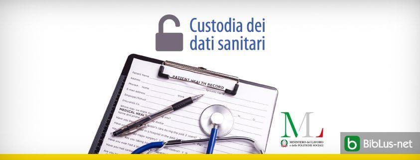 Custodia dei dati sanitari