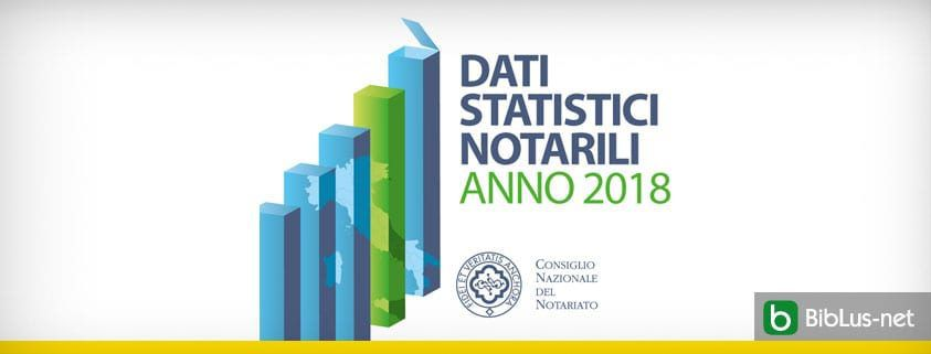 Dati statistici notarili 2018