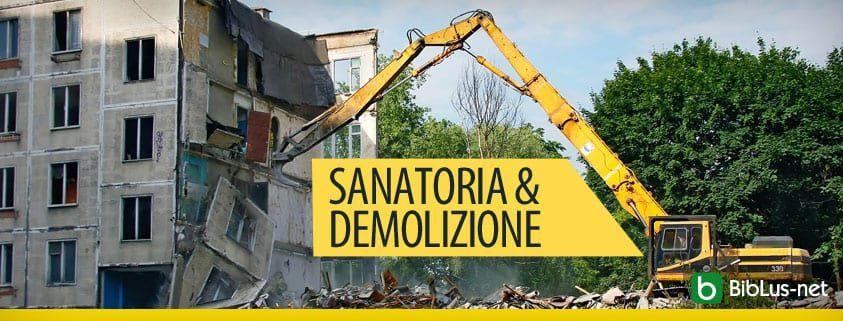 Sanatoria e demolizione