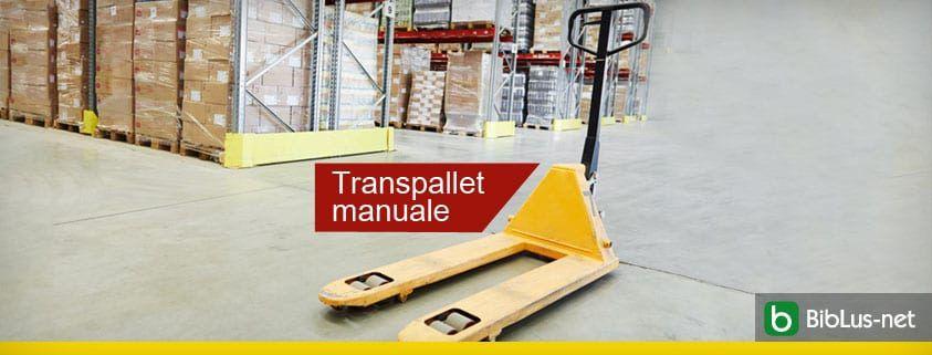 Transpallet-manualea