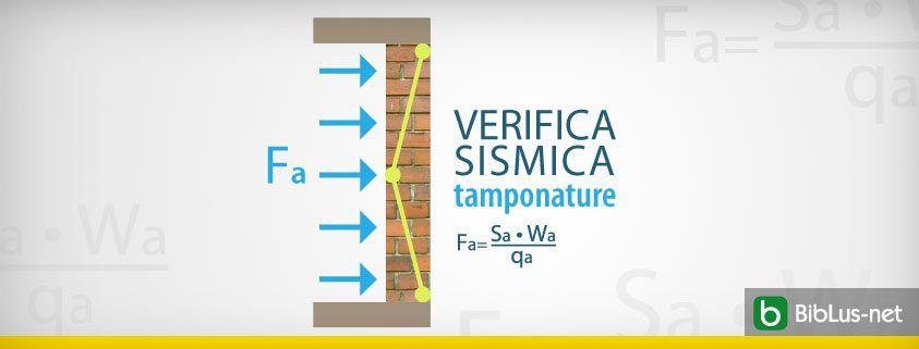 VERIFICA SISMICA TAMPONATURE