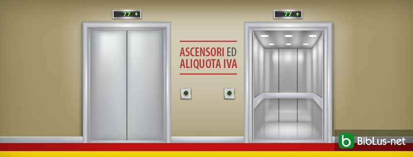 Ascensori ed aliquota IVA