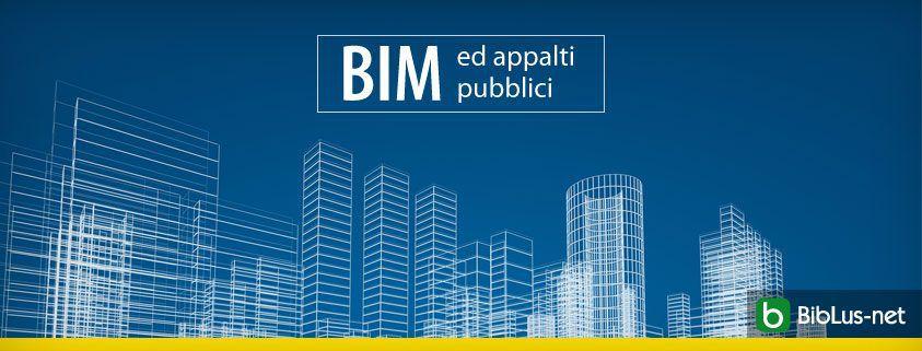 BIM ed appalti pubblici