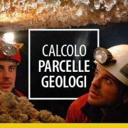 Calcolo parcelle geologi
