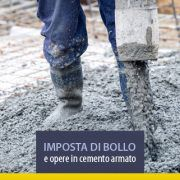 Imposta di bollo e opere in cemento armato