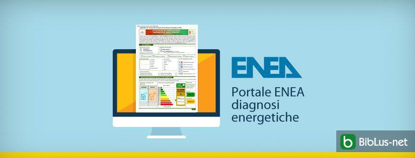 Portale enea diagnosi energetiche