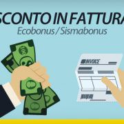 SCONTO IN FATTURA-Ecobonus-Sismabonus