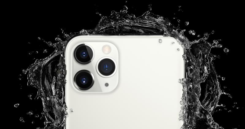 iPhone 11 impermeabile