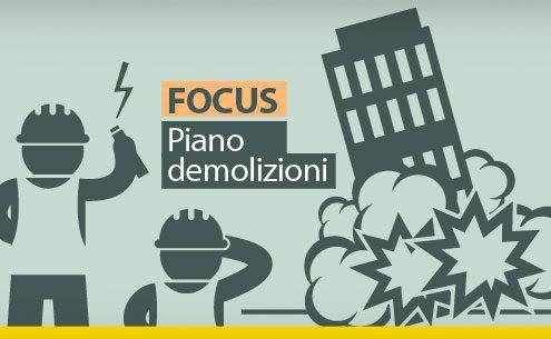 FOCUS Piano demolizioni