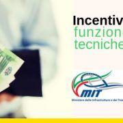 Incentivi funzioni tecniche
