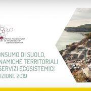 Rapporta ISPRA 2019 sul consumo del suolo