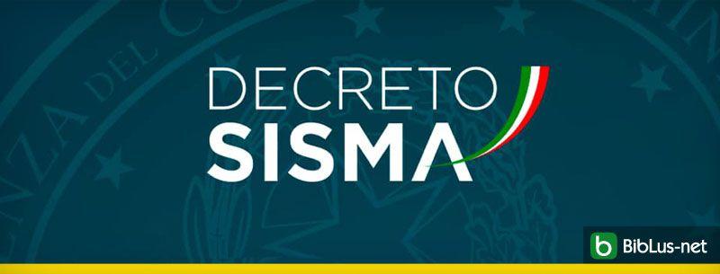 Decreto-sisma-2019