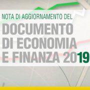 Documento di economia e finanza 2019