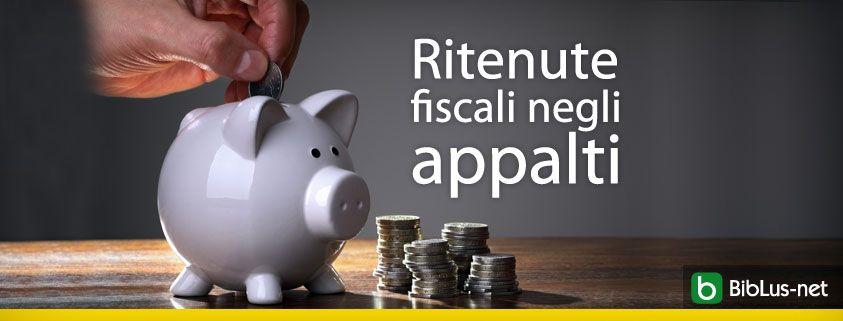 Ritenute-fiscali-negli-appalti