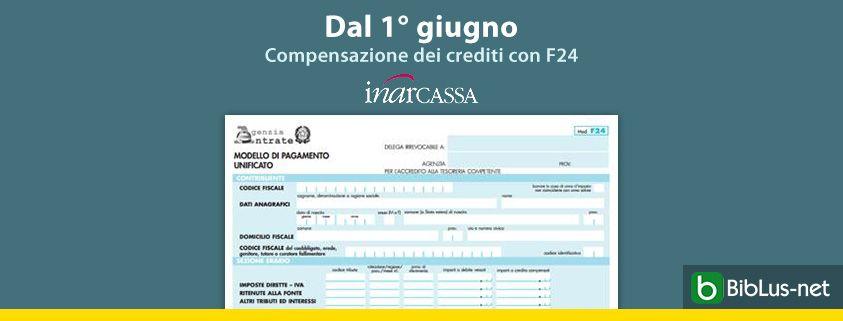 Dal-1-giugno-Compensazione-dei-crediti-con-F24