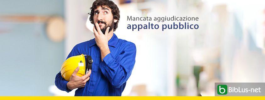 Mancata-aggiudicazione-appalto-pubblico